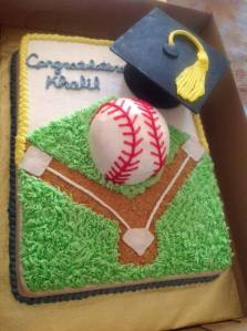 Graduate Softball Player