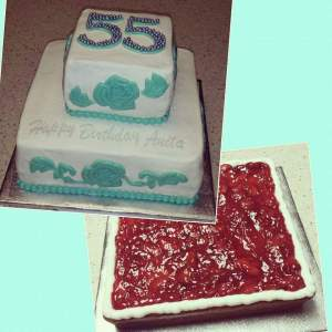 55th Birthday Celebration - Strawberry Filling