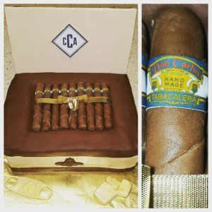 Personalized Cigars and Case