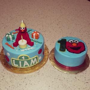 Elmo 1st Birthday Party